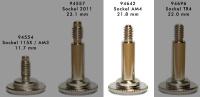 Rändelschraube für cuplex kryos NEXT Sockel AM4