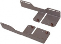 Set of 5 1/4 inch bay installation brackets for airplex XT / PRO / evo