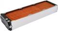 airplex modularity system 420 mm, Kupfer-Lamellen, ein Kreislauf, Edelstahl-Seitenteile