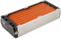 airplex modularity system 280 mm, Kupfer-Lamellen, zwei Kreisläufe, Edelstahl-Seitenteile