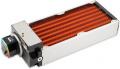 airplex modularity system 280 mm, Kupfer-Lamellen, D5 NEXT Pumpe, Edelstahl-Seitenteile