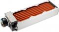 airplex modularity system 360 mm, Kupfer-Lamellen, D5 NEXT Pumpe, Edelstahl-Seitenteile