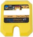 aquastream XT rückseitiger (gelber) Deckel incl. Steckeröffnung und Beschriftung