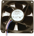 Papst fan 80 mm, 12dB, NGLE-Series (8412N/2GLE)
