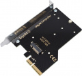 kryoM.2 PCIe 3.0 x4 adapter for M.2 NGFF PCIe SSD, M-Key