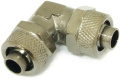 Elbow-connector with cap nuts 13/10 mm