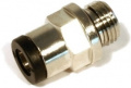 Straight plug&cool fitting G 1/4