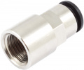 Straight plug&cool fitting G 1/4 internal thread