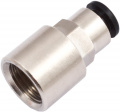 Push-in connector for 6 mm hoses, G 1/4 inner thread