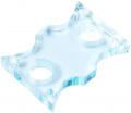 Acrylic cover for cuplex XT di, blueish color, G1/4